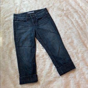 Joe's Jeans Capri Cropped Socialite Kicker Size 28
